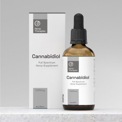 Buy CBD Oil Full Spectrum 7,200mg, CBD Extract in MCT Oil, 4oz/120ml